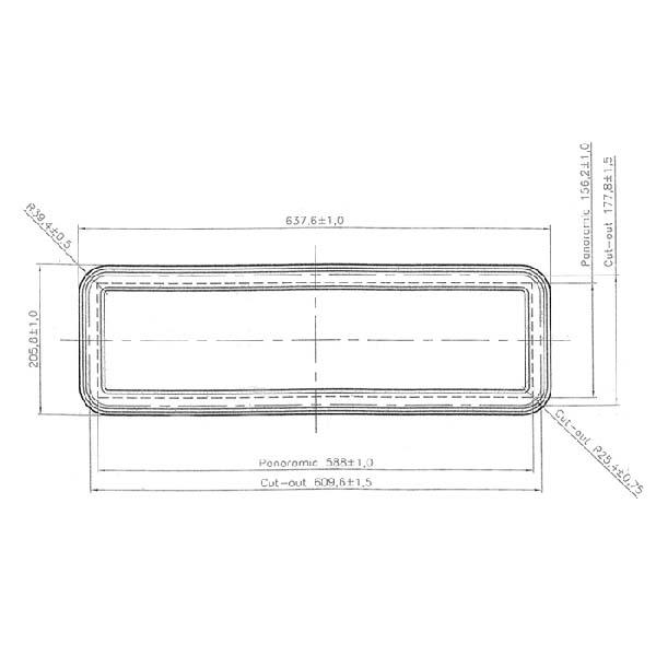 fenster rechteckig kunststoff hesse industrietor systeme. Black Bedroom Furniture Sets. Home Design Ideas