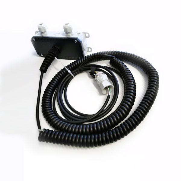 spiralkabel mit dose f r system 1 2 industrietore sektionaltor spiralkabel hesse torsysteme. Black Bedroom Furniture Sets. Home Design Ideas